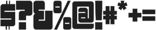 Sackem PB Narrow otf (400) Font OTHER CHARS