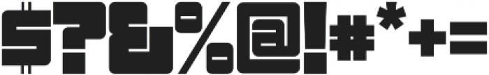 Sackem PB Wide otf (400) Font OTHER CHARS
