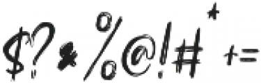 Sacreditty otf (400) Font OTHER CHARS