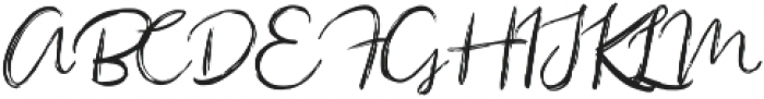 Sacreditty otf (400) Font UPPERCASE
