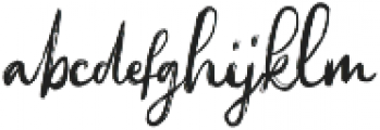 Sacreditty otf (400) Font LOWERCASE