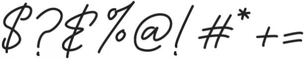 Sadwell Regular otf (400) Font OTHER CHARS
