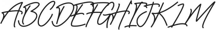 Sadwell Regular otf (400) Font UPPERCASE