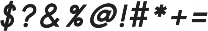 Safeway Black Italic otf (900) Font OTHER CHARS