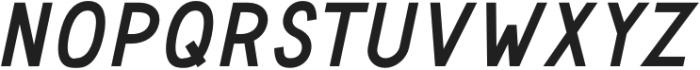Safeway Black Italic otf (900) Font UPPERCASE
