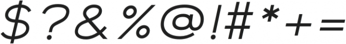 Safeway Medium Extended Italic otf (500) Font OTHER CHARS