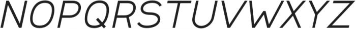 Safeway Medium Extended Italic otf (500) Font UPPERCASE