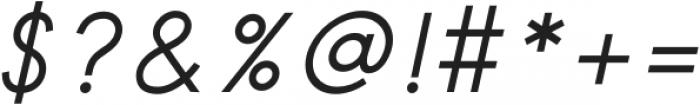 Safeway Medium Italic otf (500) Font OTHER CHARS