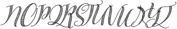 Safina Fancy ttf (400) Font UPPERCASE
