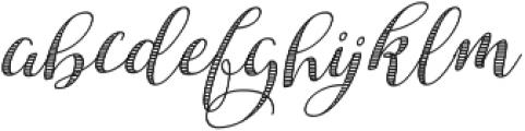 Safina Fancy ttf (400) Font LOWERCASE