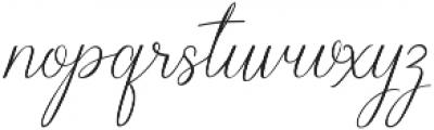 Sage Script ttf (400) Font LOWERCASE