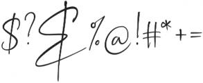Sagitarius Signature Font Regular otf (400) Font OTHER CHARS