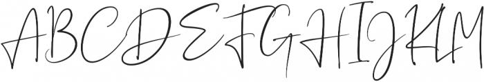 Sagitarius Signature Font Regular otf (400) Font UPPERCASE