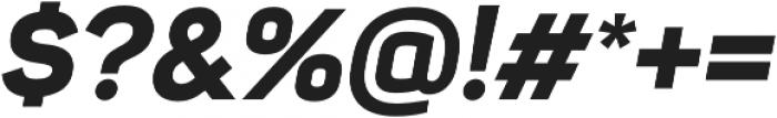 Sahar ExtraBold Italic otf (700) Font OTHER CHARS