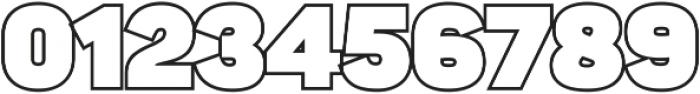 Sahar Heavy-Outline ttf (800) Font OTHER CHARS