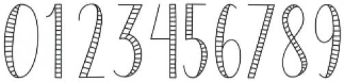 SailorStripes Medium otf (500) Font OTHER CHARS