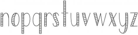 SailorStripes Medium otf (500) Font LOWERCASE