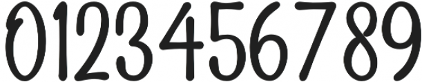 Sailoria Regular otf (400) Font OTHER CHARS