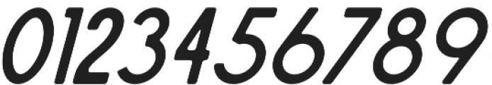 Sailors Condensed Slant otf (400) Font OTHER CHARS