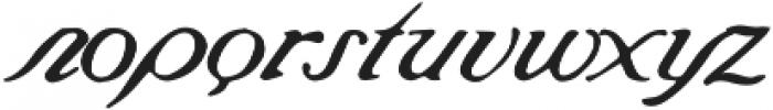Saint James Regular ttf (400) Font LOWERCASE