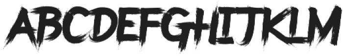 Saint Vegas Regular ttf (400) Font LOWERCASE
