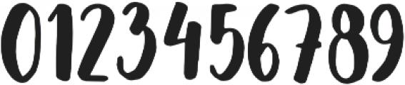 Saintpaulia otf (400) Font OTHER CHARS