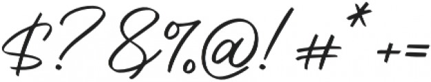 Saitama otf (400) Font OTHER CHARS