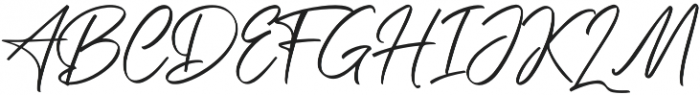 Saitama otf (400) Font UPPERCASE