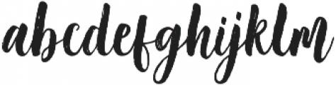 Sakhiya Regular otf (400) Font LOWERCASE