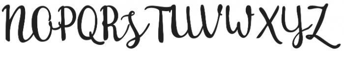 Sakra Script otf (400) Font UPPERCASE