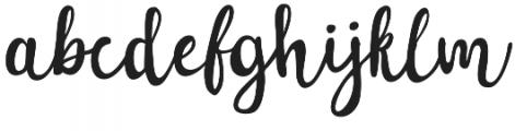 Sakra Script otf (400) Font LOWERCASE