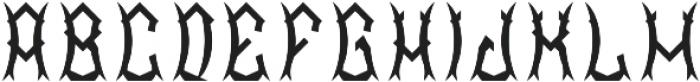 SakuraFont Regular otf (400) Font LOWERCASE