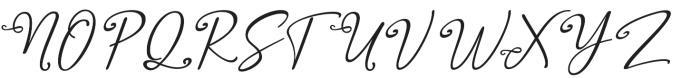 Salam Script otf (400) Font UPPERCASE