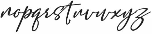 Salam Script otf (400) Font LOWERCASE