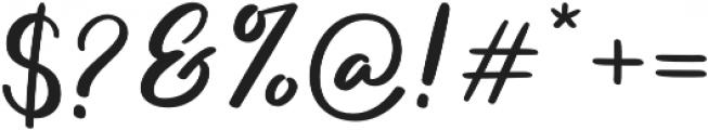 Salika otf (400) Font OTHER CHARS
