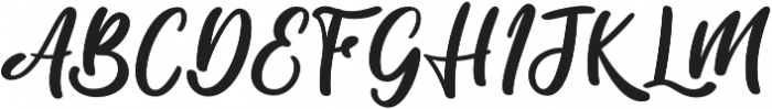 Salika otf (400) Font UPPERCASE