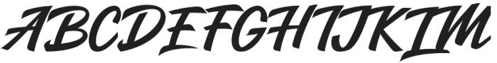 Salikin otf (400) Font UPPERCASE