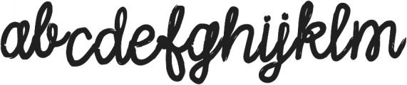 Sally Script otf (400) Font LOWERCASE