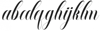 Salmages otf (400) Font LOWERCASE