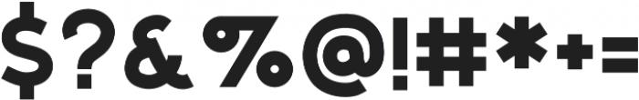 Salmon Regular otf (400) Font OTHER CHARS
