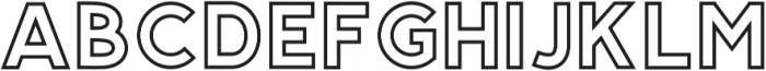 Salmon Regular otf (400) Font LOWERCASE
