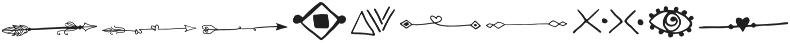 Salmon_Spirit Symbol otf (400) Font OTHER CHARS