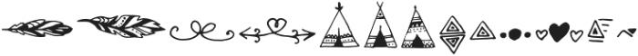 Salmon_Spirit Symbol otf (400) Font LOWERCASE