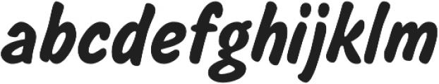 Salsbury Regular otf (400) Font LOWERCASE