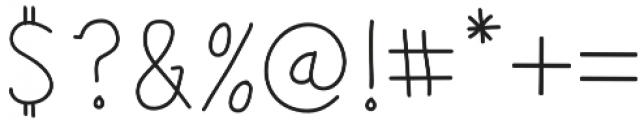 Salt & Pepper San Serif otf (400) Font OTHER CHARS