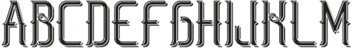 SaltLakeFont LightShadow otf (300) Font LOWERCASE