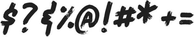 Salted Bay Regular otf (400) Font OTHER CHARS