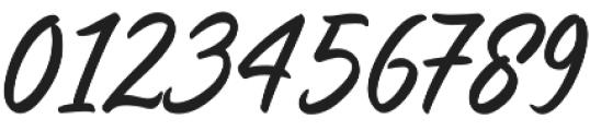 Saltery Alternate Regular otf (400) Font OTHER CHARS