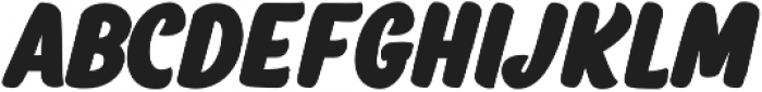Salty1 Caps Bold otf (700) Font LOWERCASE