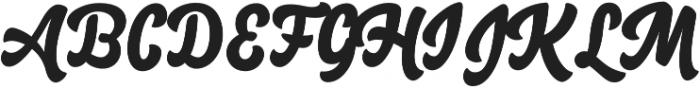 Salty1 otf (400) Font UPPERCASE